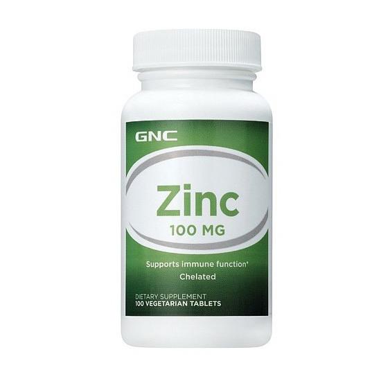 Цинк GNC Zinc 100 100 tabs