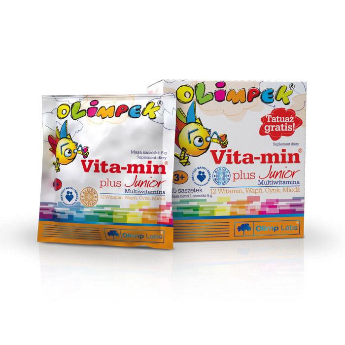 Витамины для детей OLIMP Vitamin Plus Junior 15 pak