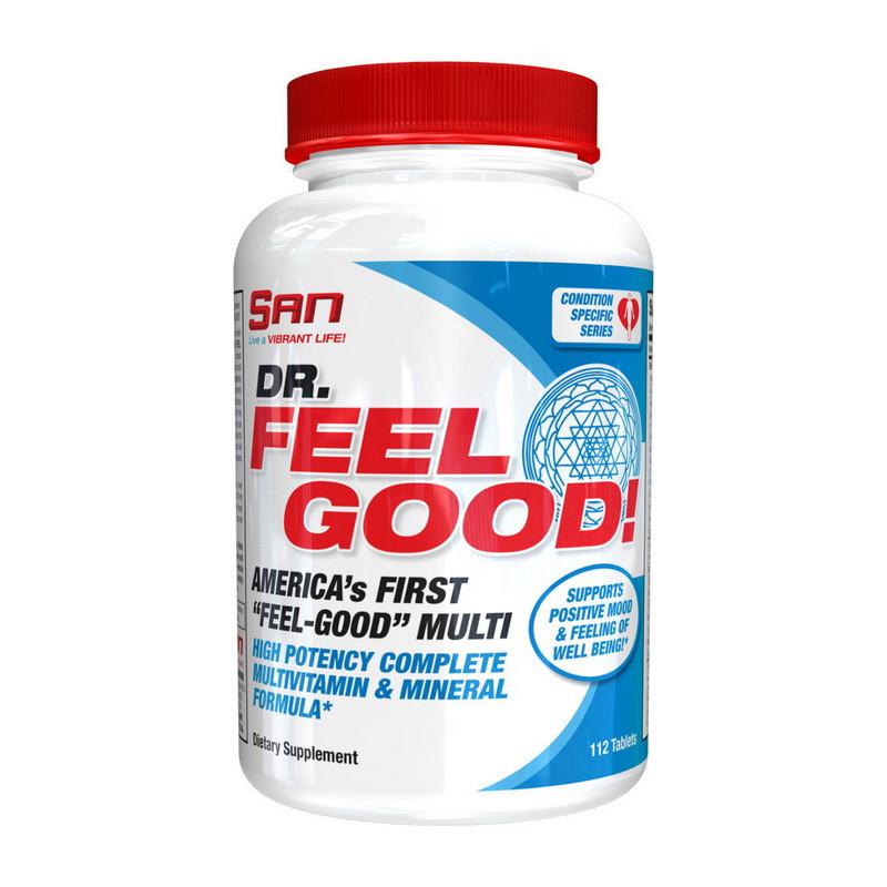 Витамины и минералы SAN Dr. Feel Good 112 tabs
