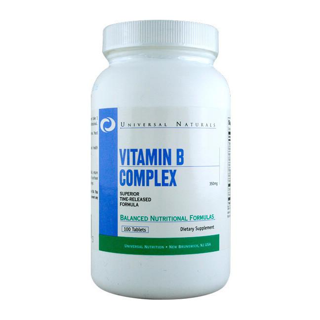 Витамин В комплекс Universal Vitamin B Complex 100 tabs