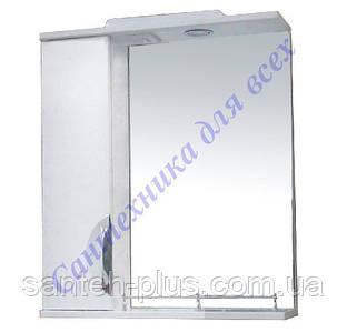 Зеркало с пеналом и подсветкой для ванной комнаты Грация-50