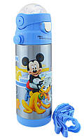Термос детский с поилкой Disney 603 350 мл Мики Маус №2