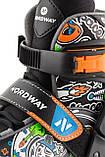 Коньки раздвижные детские Nordway SLIDE BOY, Черный, 26-31, фото 7