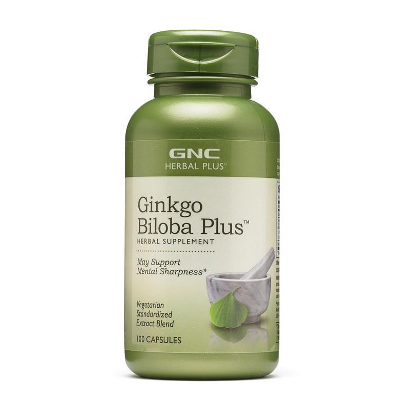 Гинкго Билоба GNC Ginkgo Biloba Plus 100 caps