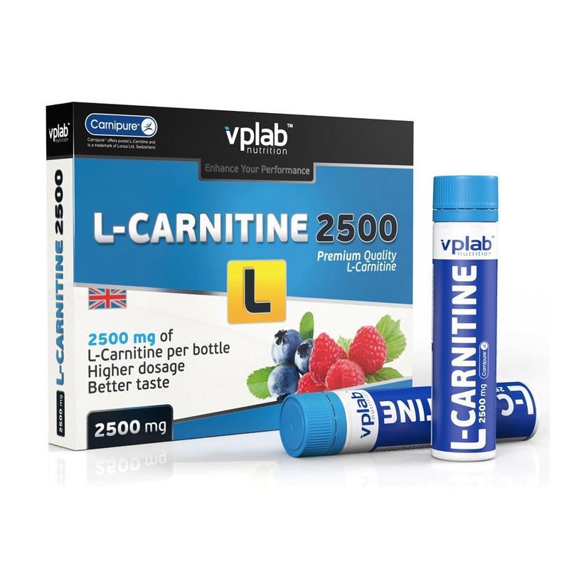 Л карнитин жидкий VP Lab L-Carnitine 2500 7*25 ml