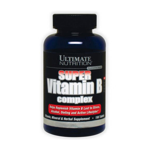 Витамин В комплекс Ultimate Nutrition Super Vitamin B Complex 150 tabs