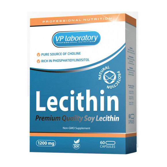 Лецитин VP Lab Lecithin 60 caps