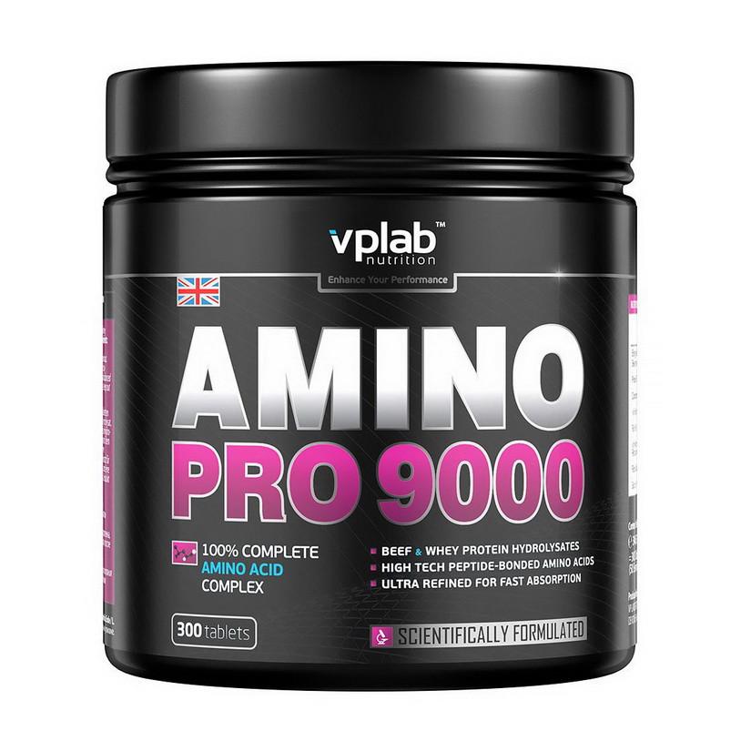 Аминокислотный комплекс VP Lab Amino Pro 9000 300 tabs