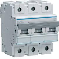 Автоматический выключатель Hager 3П 125А тип С HLF399S