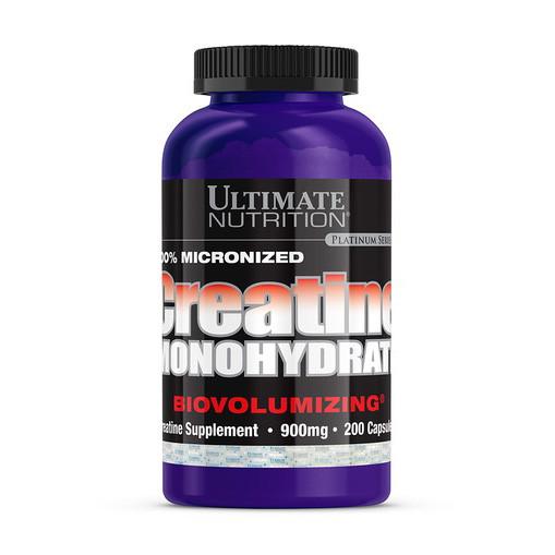 Креатин моногидрат Ultimate Nutrition Creatine Monohydrate 200 caps
