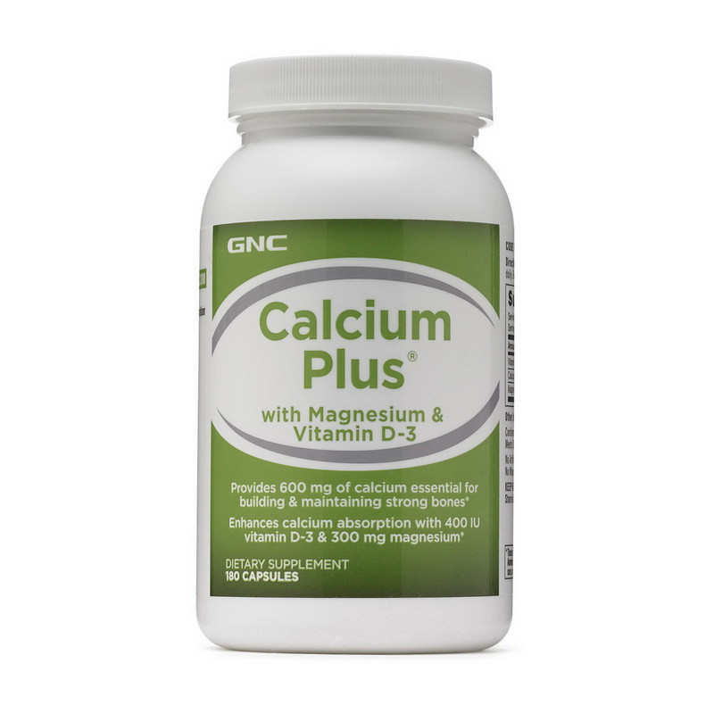 Цитрат кальция Д3 GNC Calcium Citrate Plus with Vitamin D-3 180 caps