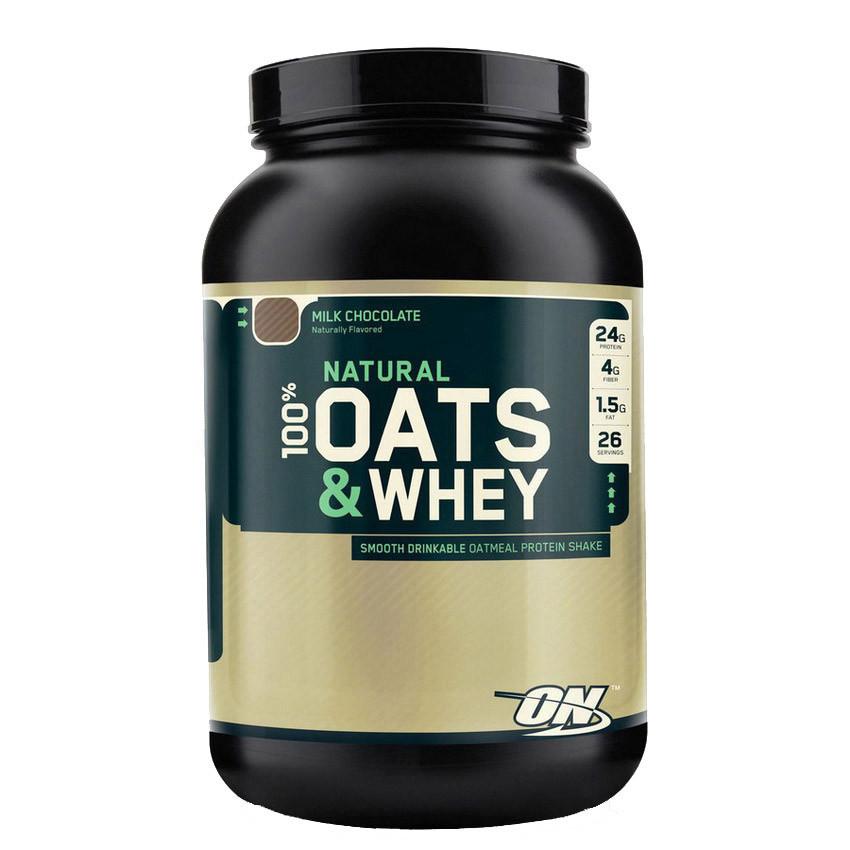 Овсянка с протеином Optimum Nutrition 100% Natural Oats & Whey (1,36 kg)