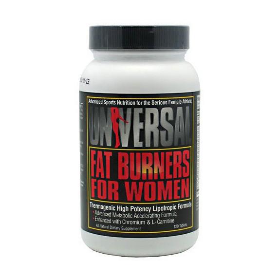 Жиросжигатель Universal Fat Burners For Women 120 tabs