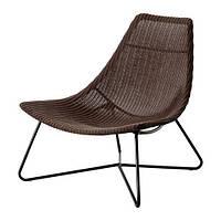 """IKEA """"РОДВИКЕН"""" кресло, темно-коричневый, черный"""