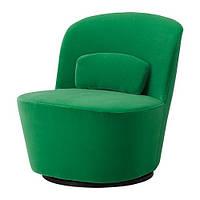 """IKEA """"СТОКГОЛЬМ"""" вращающееся кресло, Сандбакка зеленый"""