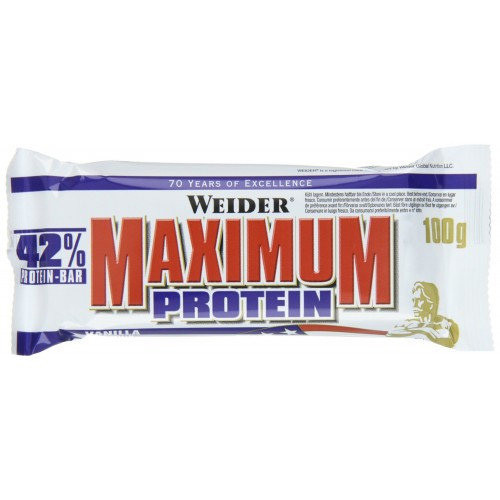 Протеиновый батончик Weider 42% Maximum Protein Bar 100 g
