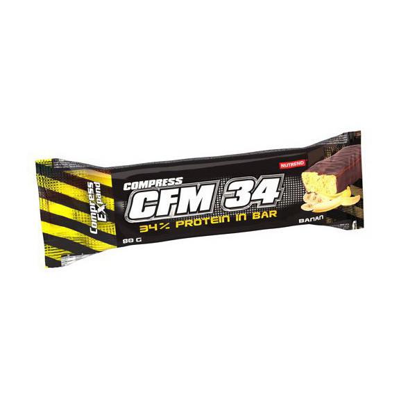 Протеиновый батончик Nutrend Compress CFM 34 80 g