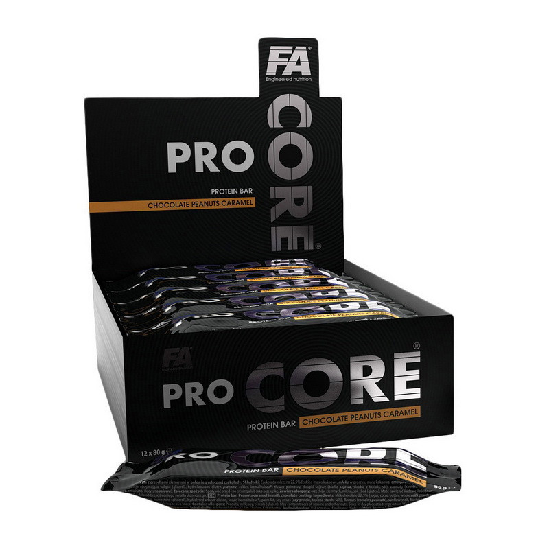 Fitness Authority Nutrition PRO CORE Protein Bar (1 x 80 g)