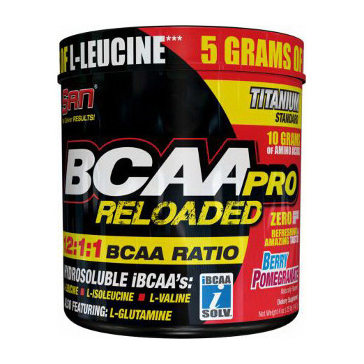 ВСАА Аминокислоты SAN BCAA Pro Reloaded 456 g