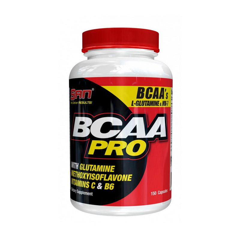 ВСАА Аминокислоты SAN BCAA Pro 150 caps