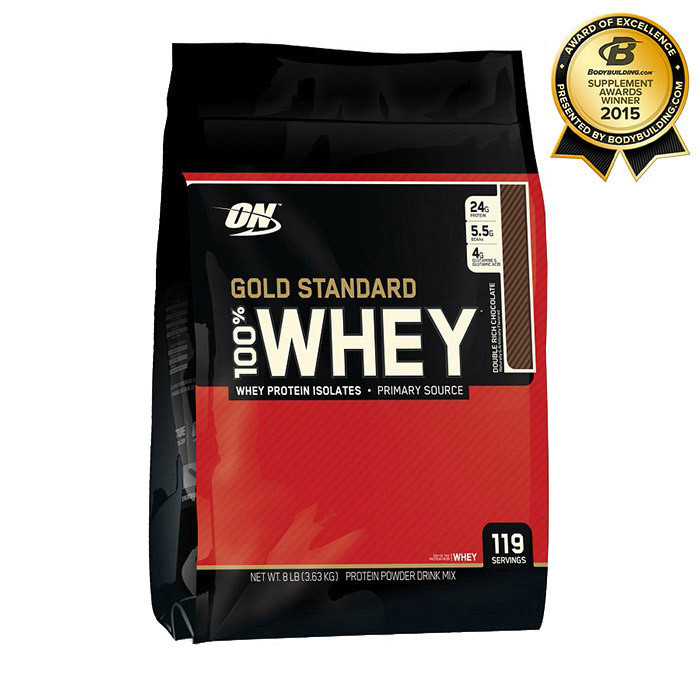 Сывороточный протеин Optimum Nutrition 100% Whey Gold Standard 3,63 kg