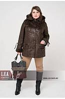 Вельбо, женская демисезонная куртка батал, фото 1