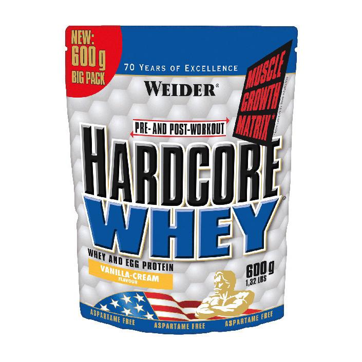 Сывороточный протеин Weider Hardcore Whey 600 g