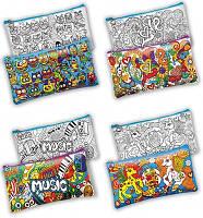 Пенал раскраска Детское творчество  My Color Clutch ССL-000-01