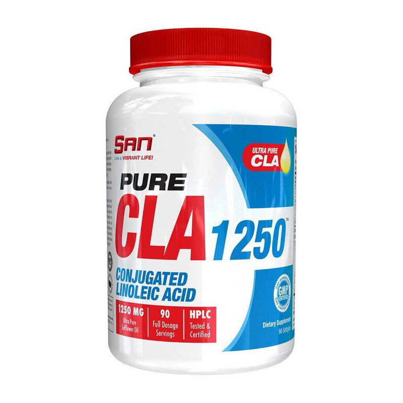 Конъюгированная линолевая кислота SAN Pure CLA 1250 mg 90 softgels
