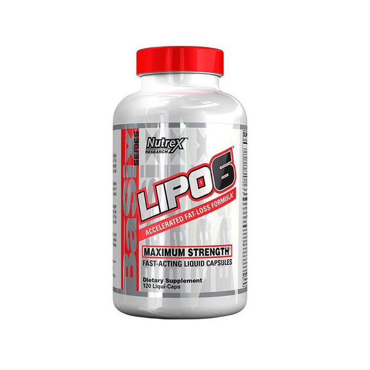 Жиросжигатель Nutrex Lipo 6 Maximum Strength 60 caps