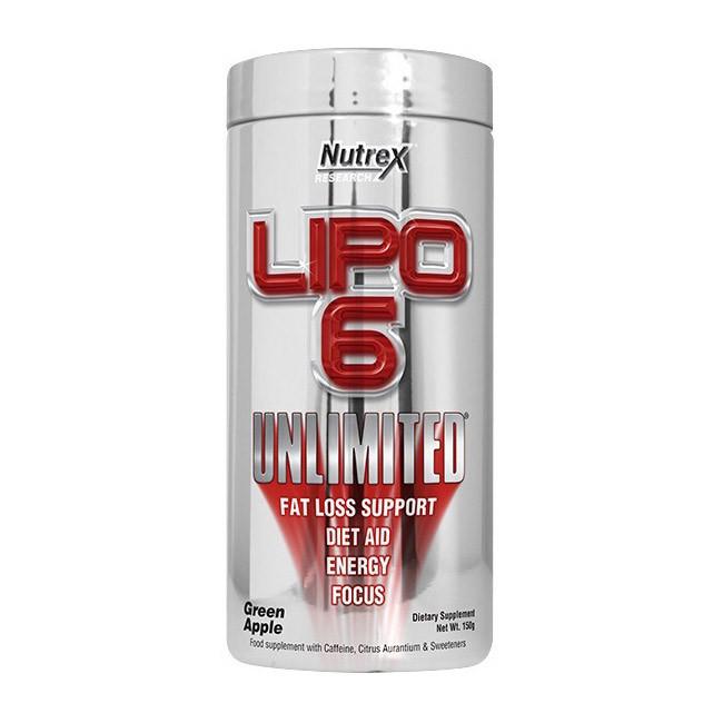 Жиросжигатель Nutrex Lipo 6 Unlimited NEW 150 g