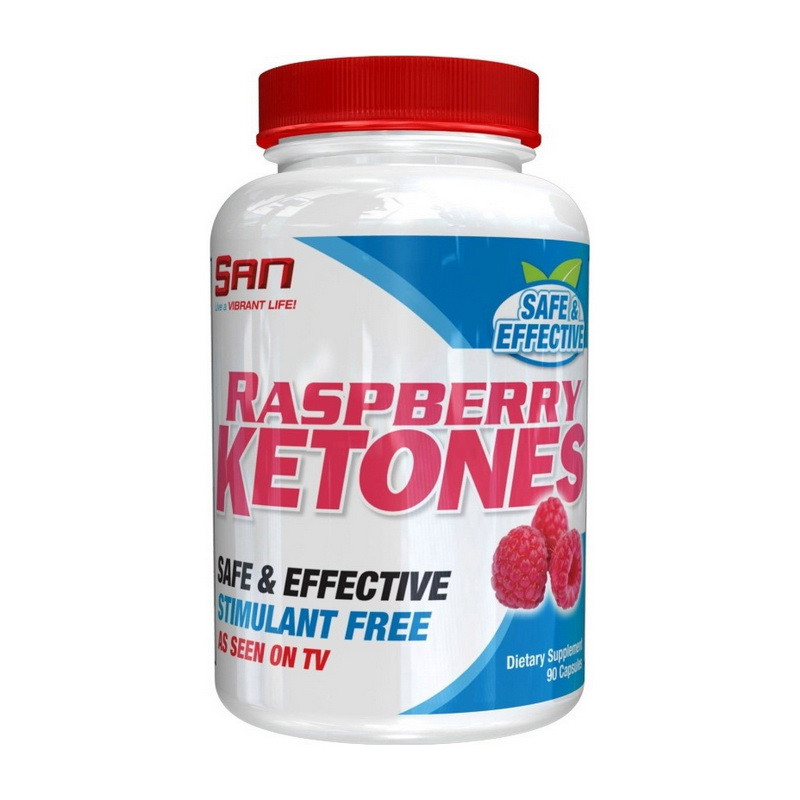Кетоны малины SAN Raspberry Ketones 90 caps
