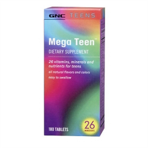 Мультивитамины для подростков GNC Mega Teen Reform 180 tabs