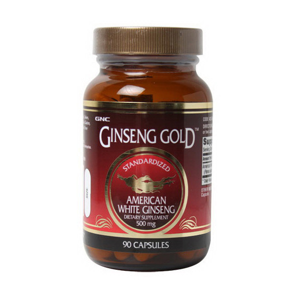 Женьшень GNC Ginseng Gold 90 caps