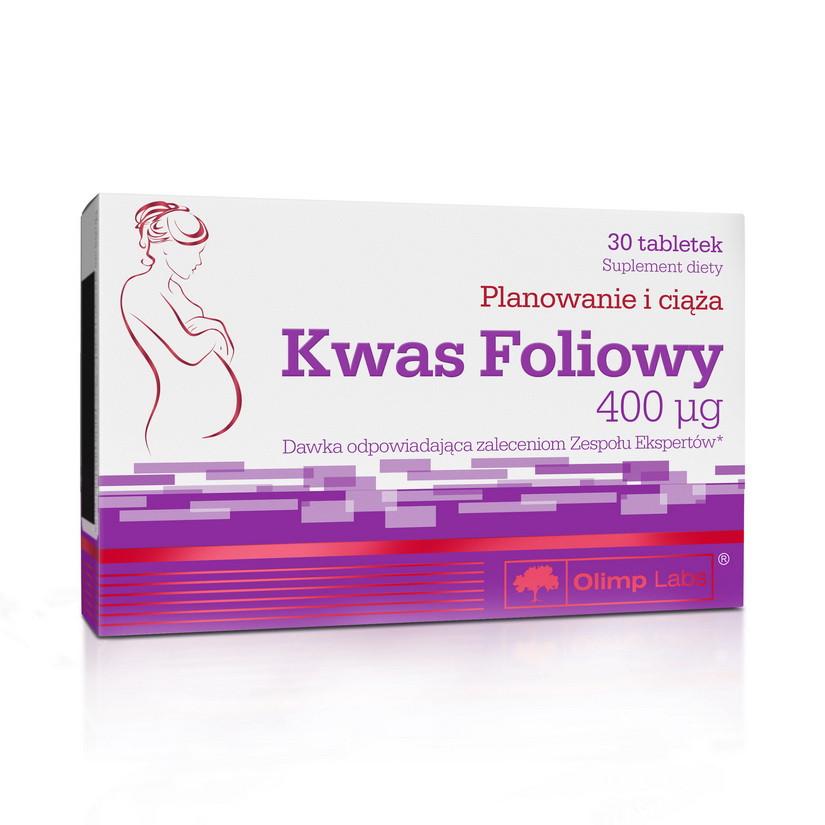 Olimp Kwas Foliowy (30 tabs)