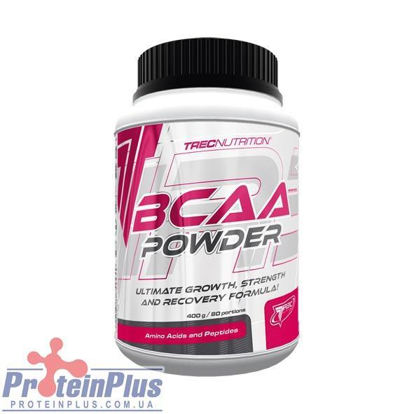 ВСАА Аминокислоты TREC nutrition BCAA Powder 200 g натуральный вкус
