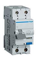 Дифференциальный автомат Hager 2П 20А 30мА тип С AD970J