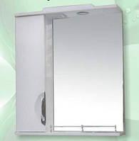 Зеркало для ванной комнаты с пеналом и подсветкой Грация-70