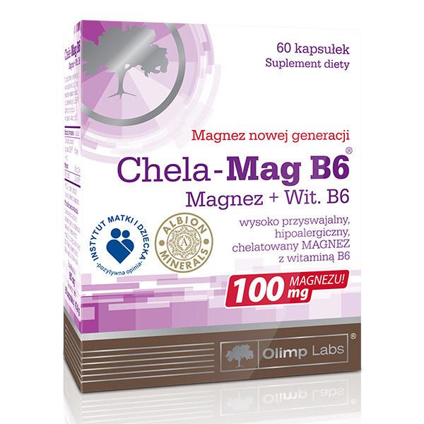 Магний Б6 OLIMP Chela-Mag B6 60 caps
