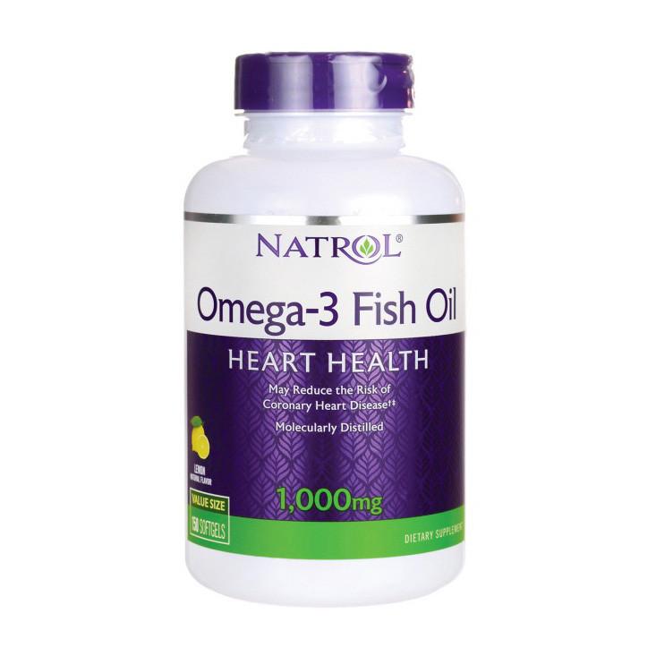 Омега 3 Natrol Omega-3 Fish Oil (90 softgels)