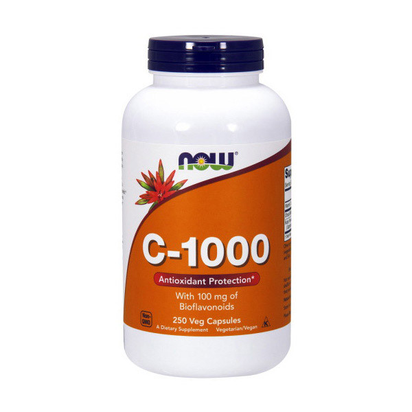 Витамин С с биофлавоноидами NOW C-1000 with bioflavonoids 250 caps