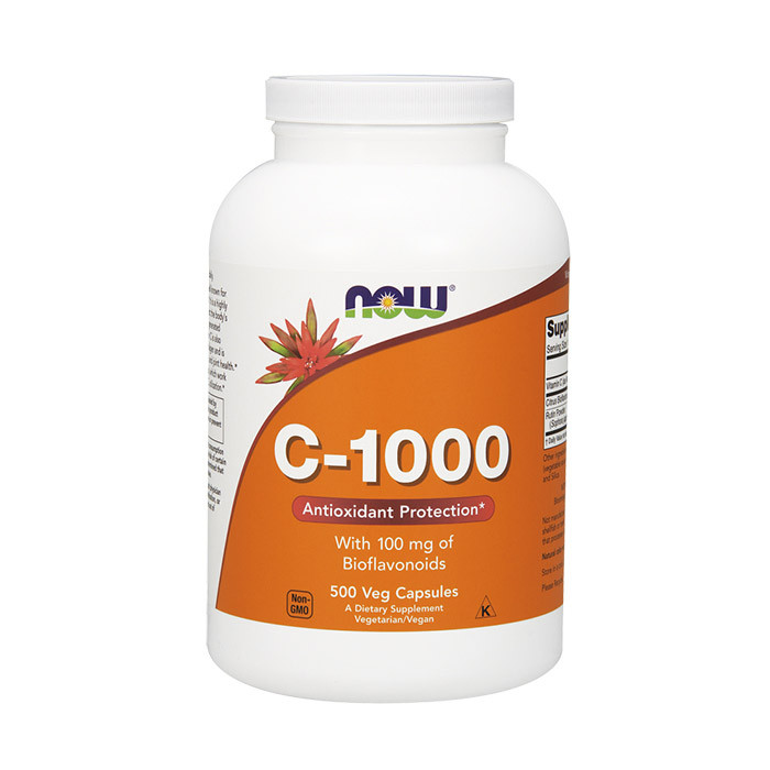 Витамин С с биофлавоноидами NOW C-1000 with bioflavonoids 500 veg caps
