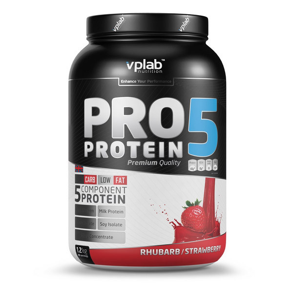 Комплексный протеин VP Lab Pro 5 Protein (1,2 kg)