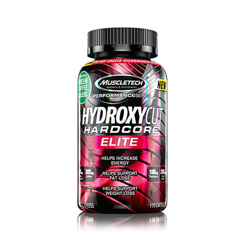Жиросжигатель MuscleTech Hydroxycut Hardcore Elite 180 caps