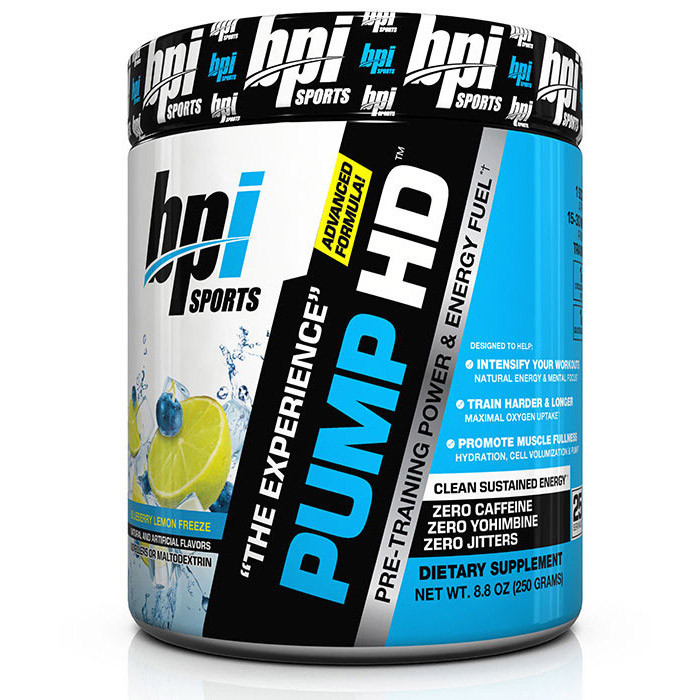 Предтренировочный комплекс BPI sports Pump HD advanced formula 250 g