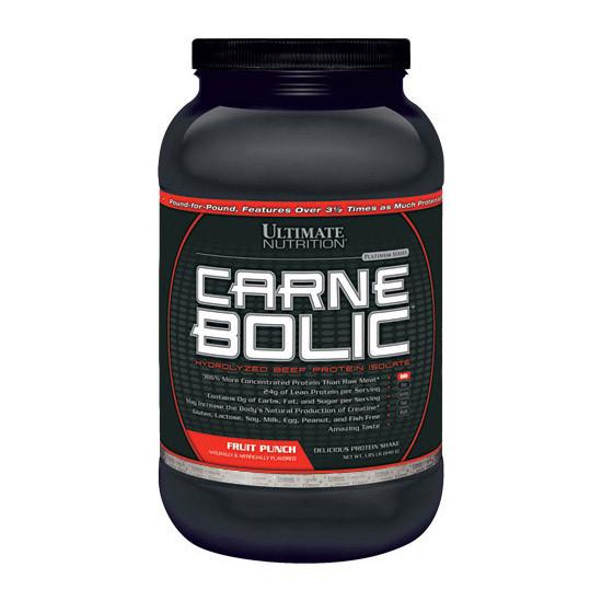 Говяжий протеин Ultimate Nutrition Carne Bolic 840 g