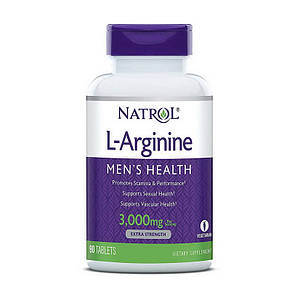 Natrol L-Arginine 3000 mg (90 tabs)