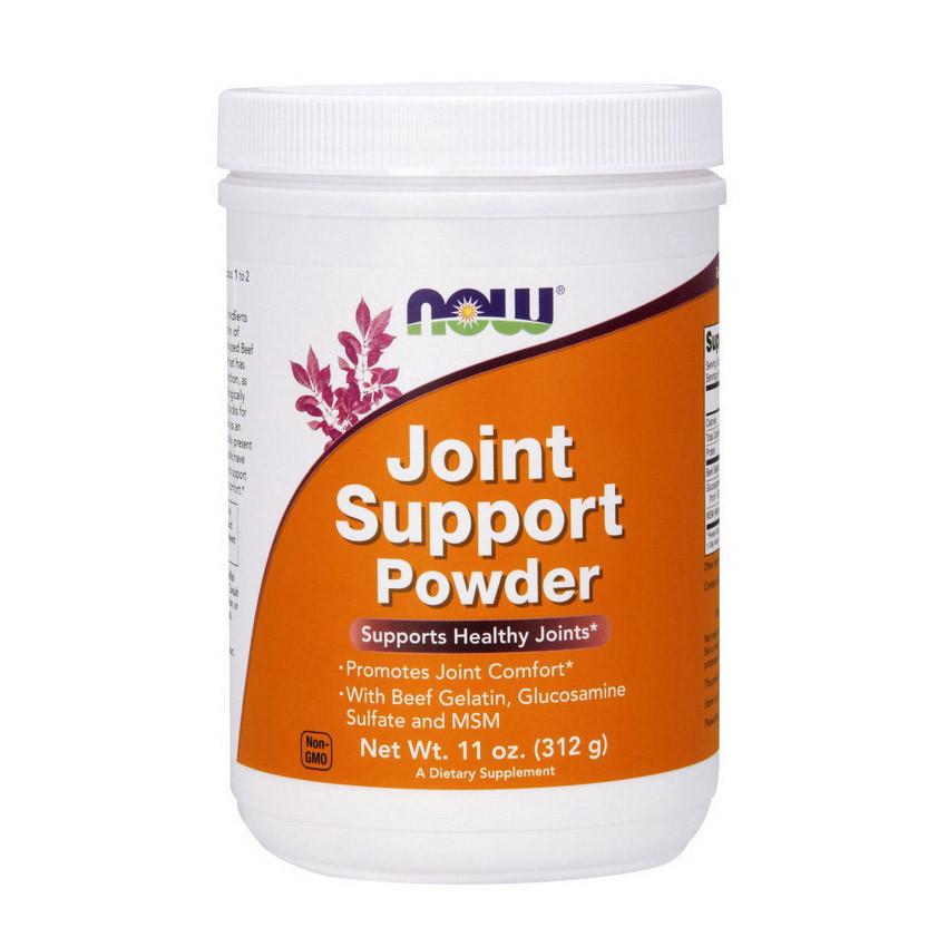 Хондропротектор NOW Joint Support Powder 312 g натуральный вкус