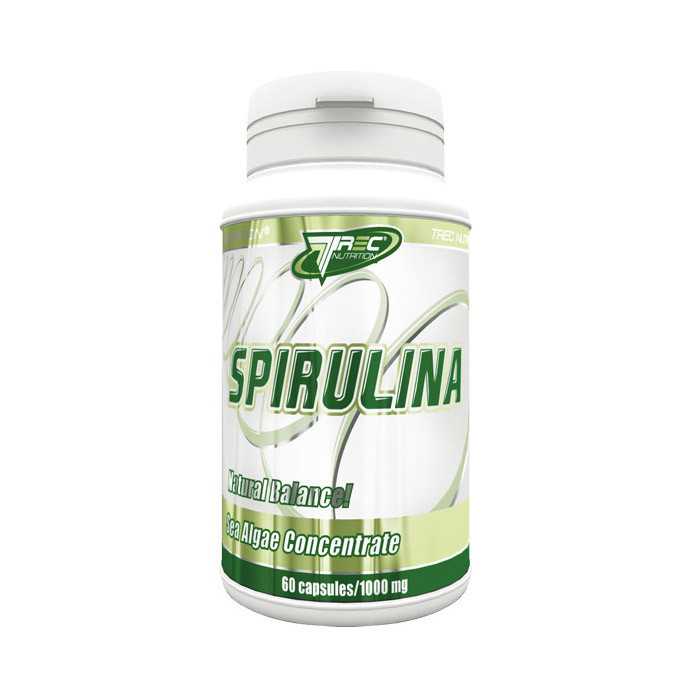 Спирулина TREC nutrition Spirulina 60 caps