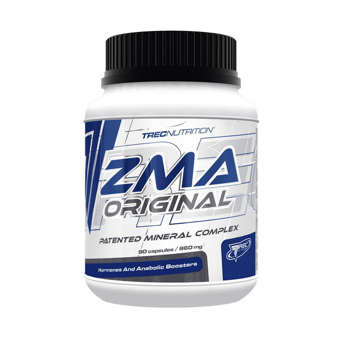 Цинк с магнием TREC nutrition ZMA Original 90 caps